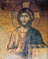 Byzantine Mosaic of Christ