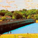 """Powder Point Bridge Duxbury MA"" by Eduardo828"