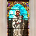 """St. Stanislaus Stained Glass Window"" by tex"