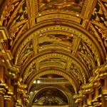 """Sistine ceiling at the Venetian hotel, Las Vegas"" by lightbehaviour"