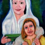 """mary and child jesus"" by IrisGrover"