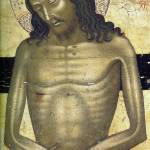 """Man of Sorrows (c. 1450)"" by ArtLoversOnline"