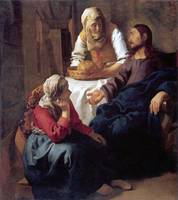 Christ with Mary and Martha (c. 1654)