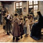 """Let the Children come to Me (1884)"" by ArtLoversOnline"
