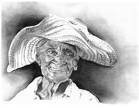 Old Woman In Hat