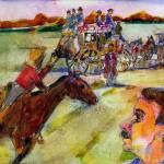 """Pony Express Rider"" by McGuffSilverman"