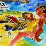 """""""Sun Bathers"""" by McGuffSilverman"""