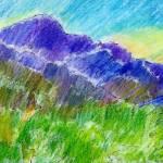 """""""Pikes Peak, Sunset"""" by McGuffSilverman"""