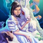 """""""A Girl and Her Bunny"""" by asikstrom"""