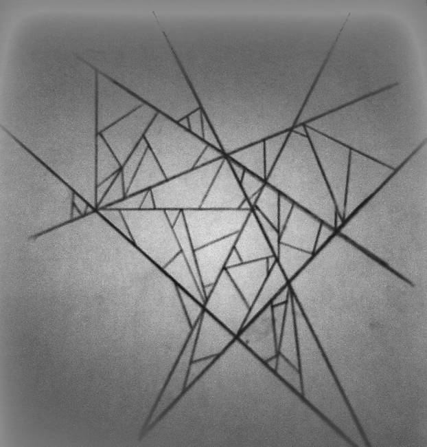 stunning quotgeometricquot pencil drawings and illustrations for