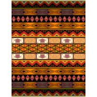 Ethnic pattern in African style