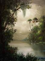 Old Florida Misty River