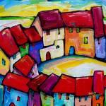 """BARI , ITALY"" by saracatenacolorfulart"