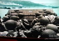 Normandy beach soldiers