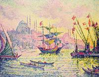 View of Constantinople by Paul Signac