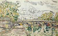 The Pont Neuf, Paris by Paul Signac