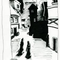 Streets of Westgate Art Prints & Posters by Dominick Pelletier
