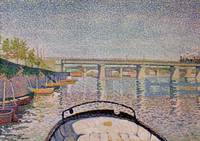 The Bridge at Asnieres by Paul Signac