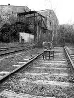 Chair on the tracks 2