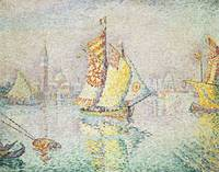 The Yellow Sail by Paul Signac
