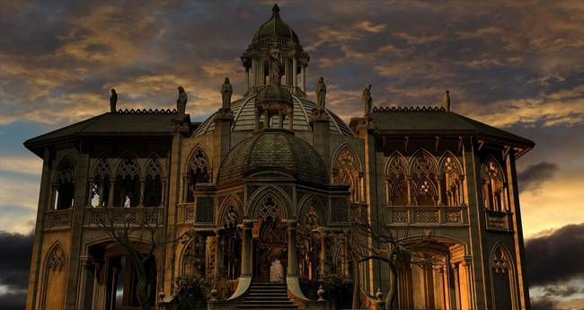 Gothic Mansion By Antinopolis