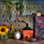 """The Kitchen Counter--Late 1800s Style"" by DigiPix"