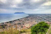 Terracina from Monte Giove