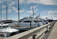Yacht Row at Newport RI
