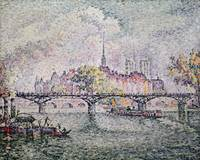 Ile de la Cite, Paris by Paul Signac
