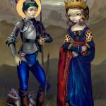 """Saint George and Princess Sabra"" by strangeling"