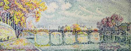 The Pont des Arts by Paul Signac