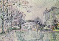 The Canal Saint-Martin by Paul Signac