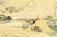The Pile of Sand, Bercy by Paul Signac