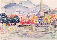 Le Paillon, Nice by Paul Signac