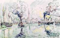 Cherbourg by Paul Signac