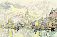 Fecamp by Paul Signac