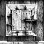 """Old wood framed window"" by PerryWebster"