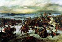 The Death of Charles the Bold by Delacroix