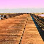 """Powder Point Bridge looking east"" by Eduardo828"