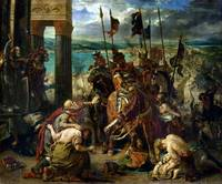 The Crusaders' entry into Constantinople Delacroix