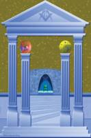 Masonic Chamber Dream Scape