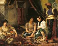 The Women of Algiers in their Apartment Delacroix