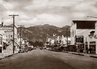 Calistoga Main Street c1935 by WorldWide Archive