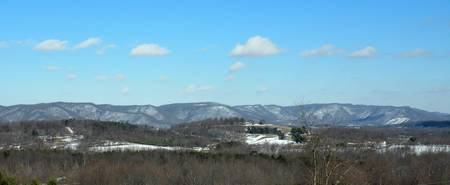 The Blue Ridge in Snow 0003