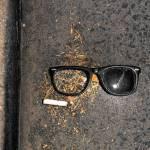 """Sunglasses and Cigarette"" by BrendanArthurRing"