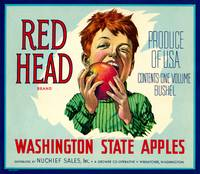 Red Head Apples