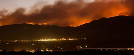 Fourmile Canyon Boulder County Wildfire Panorama