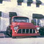 """1955 Chevrolet Pickup Truck Step side"" by joegemignani"
