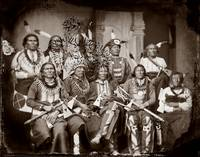 Indian Group c1860 by WorldWide Archive