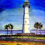 """Biloxi Lighthouse"" by CDarleneCollins"